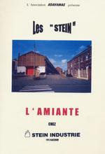 Le livre � la m�moire des � STEIN � l´amiante chez ALSTOM STEIN Industrie